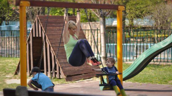 Szülés után sport, edzés gyerekkel